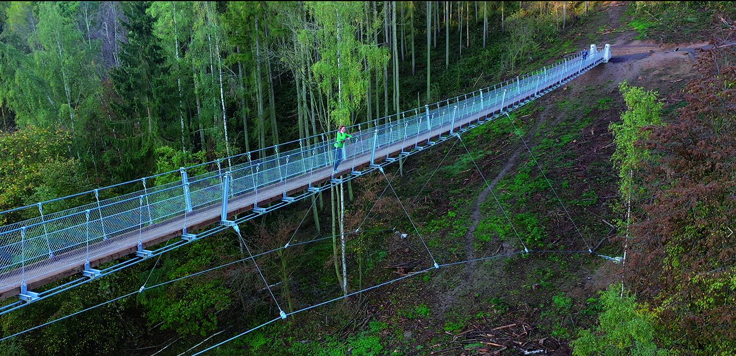 Hängeseilbrücke // Fotograf: Thomas Zelmer, ZK-MEDIEN
